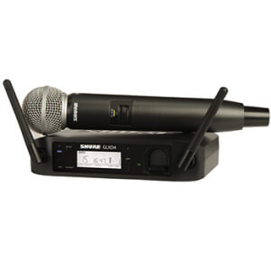 Radio Microphones Hire from Fusion Sound and Light
