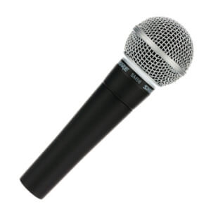 Wired Microphones Hire from Fusion Sound and Light