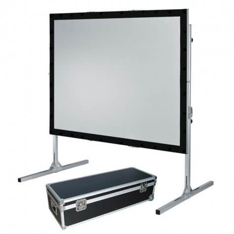 "120"" 8x6ft Fast Fold Projection Screen Front & Rear Hire London & Surrey - Fusion Sound & Light"