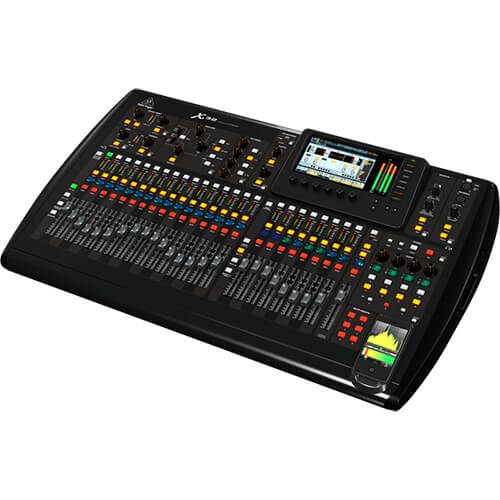 Behringer X32 Digital Mixing Desk Hire Fusion Sound and Light
