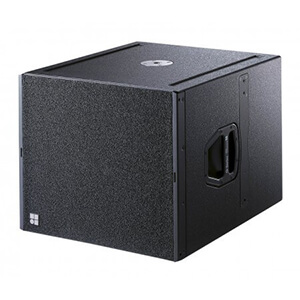 d and b Q Sub Speaker Hire London & Surrey Fusion Sound and Light