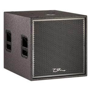 OHM TRS 118 Subwoofer Hire - Fusion Sound & Light