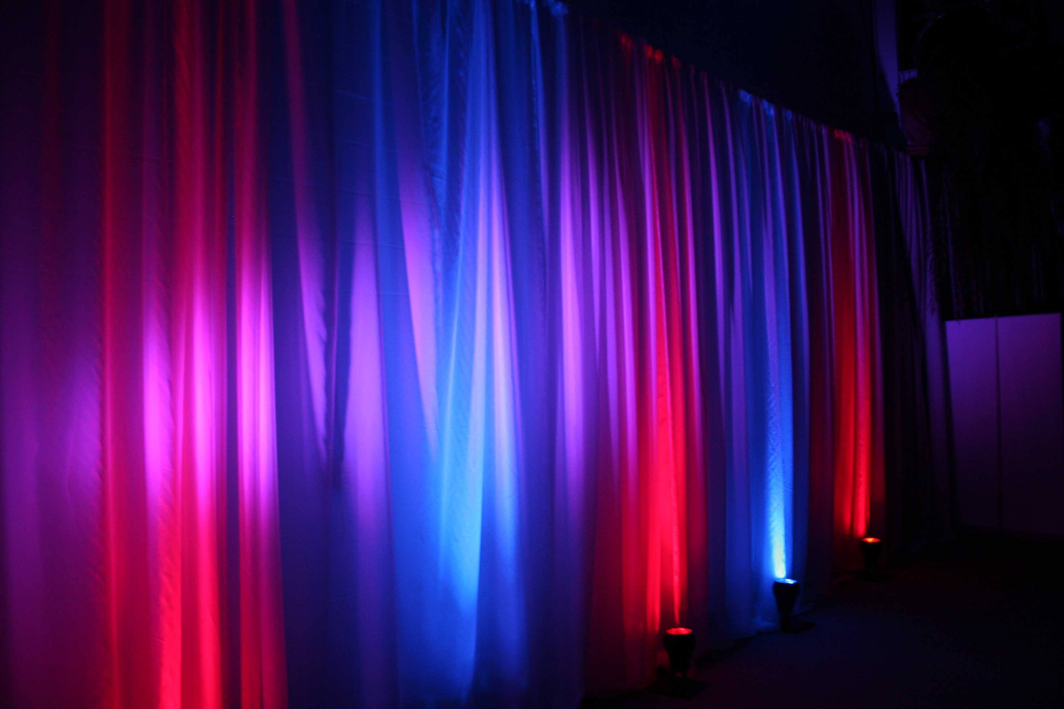 Led Mood Lighting Hire London And Surrey Fusion Sound