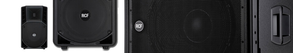 rcf speaker pa hire london