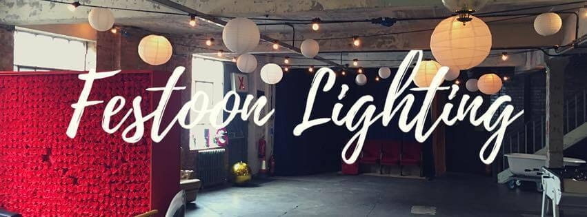 Festoon Lighting Hire London & Surrey - Fusion Sound & Light