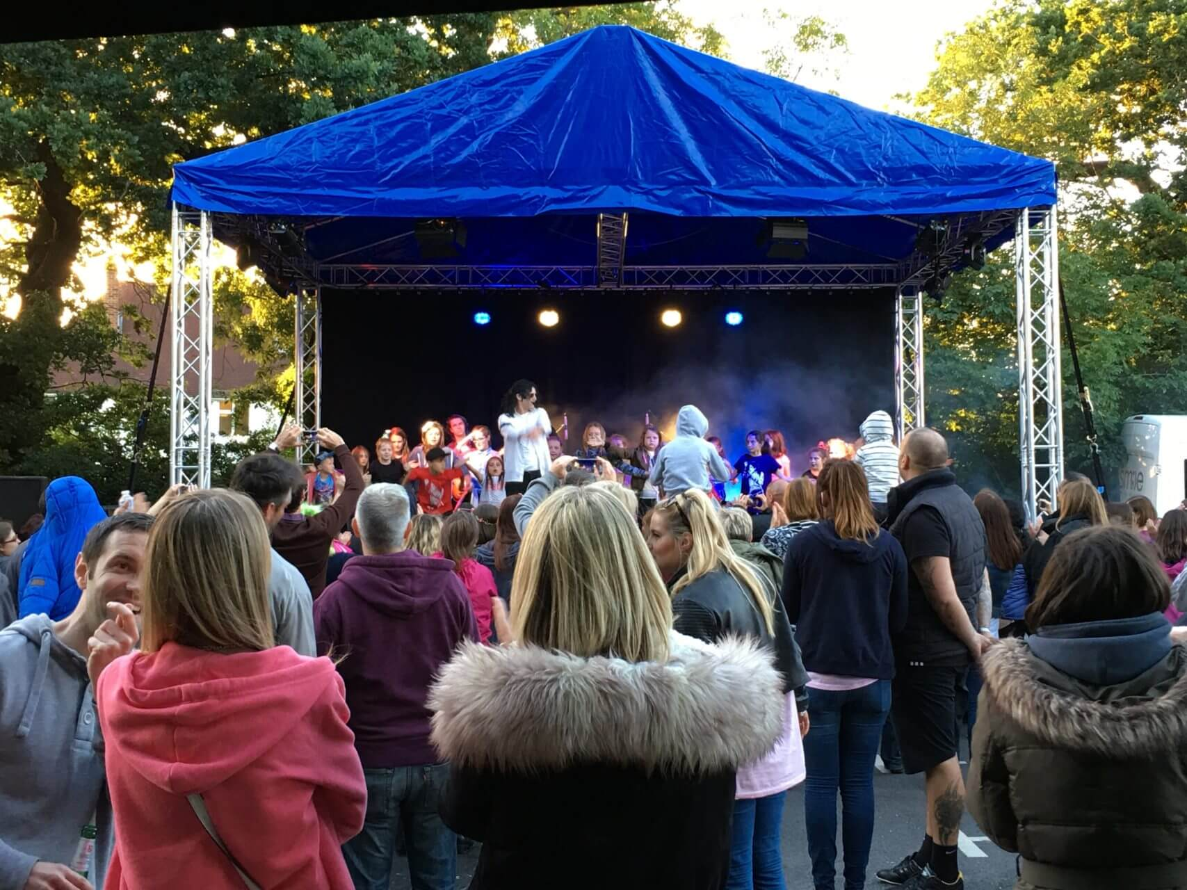 Outdoor Stage Hire London & Surrey