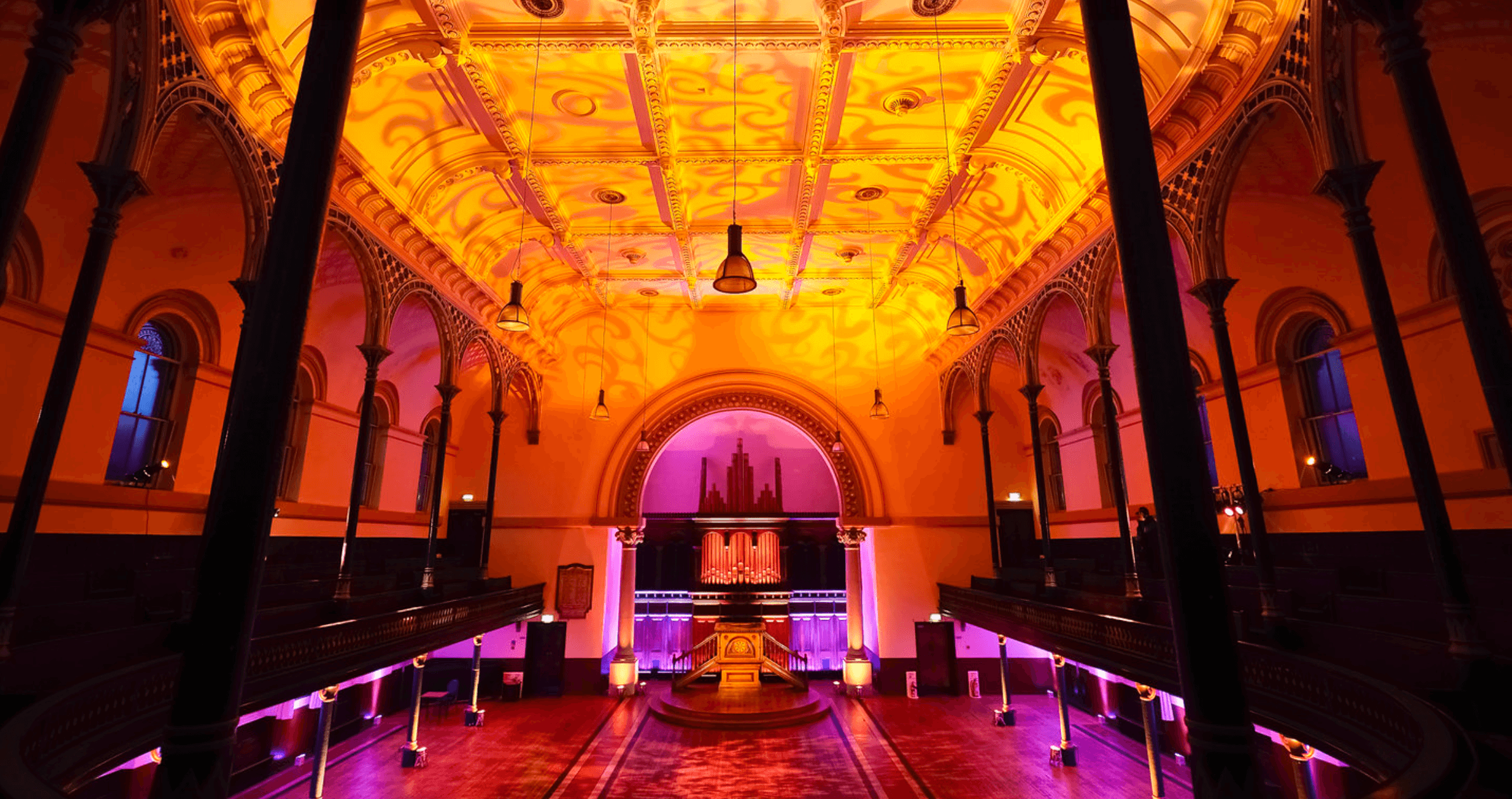 Round Chapel Hackney Wedding - Fusion Sound & Light