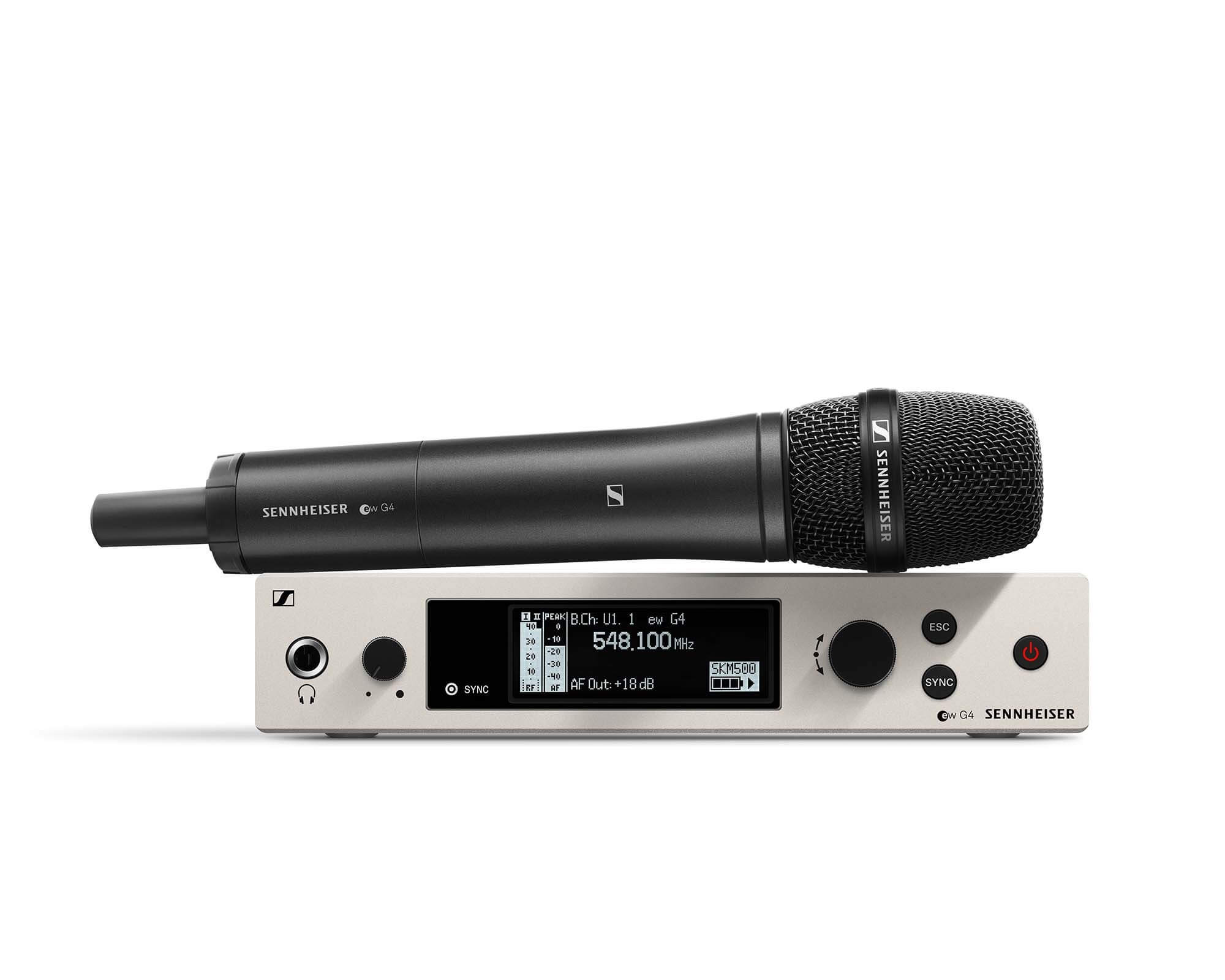 Sennheiser EW500 G4 Hire - Fusion Sound & Light