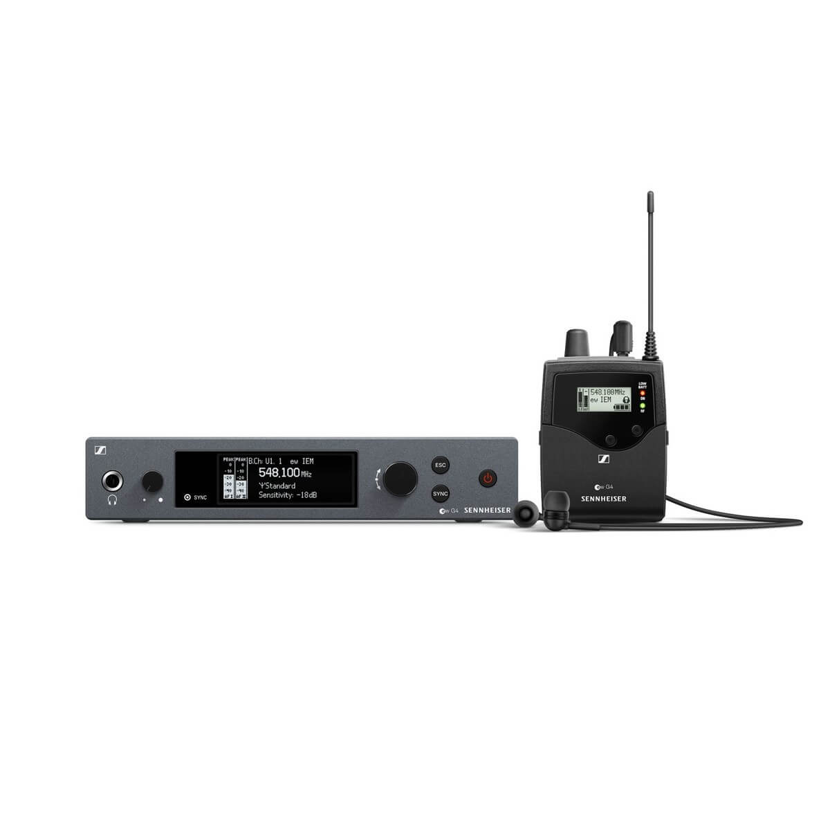 Sennheiser EW IEM G4 - Wireless In-Ear-Monitor-System Hire