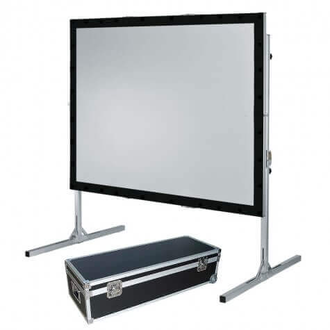 120″ Fast Fold Projection Screen Hire London & Surrey Fusion Sound and Light
