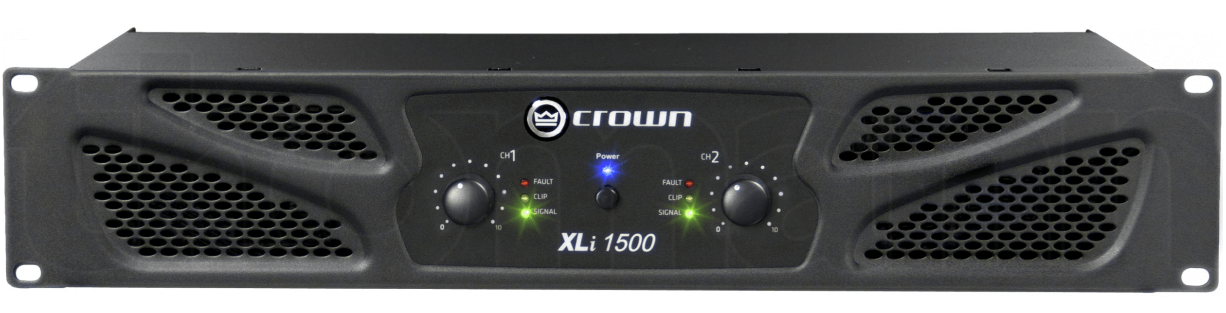 Crown XLI 1500 Amplifier Hire - Fusion Sound & Light