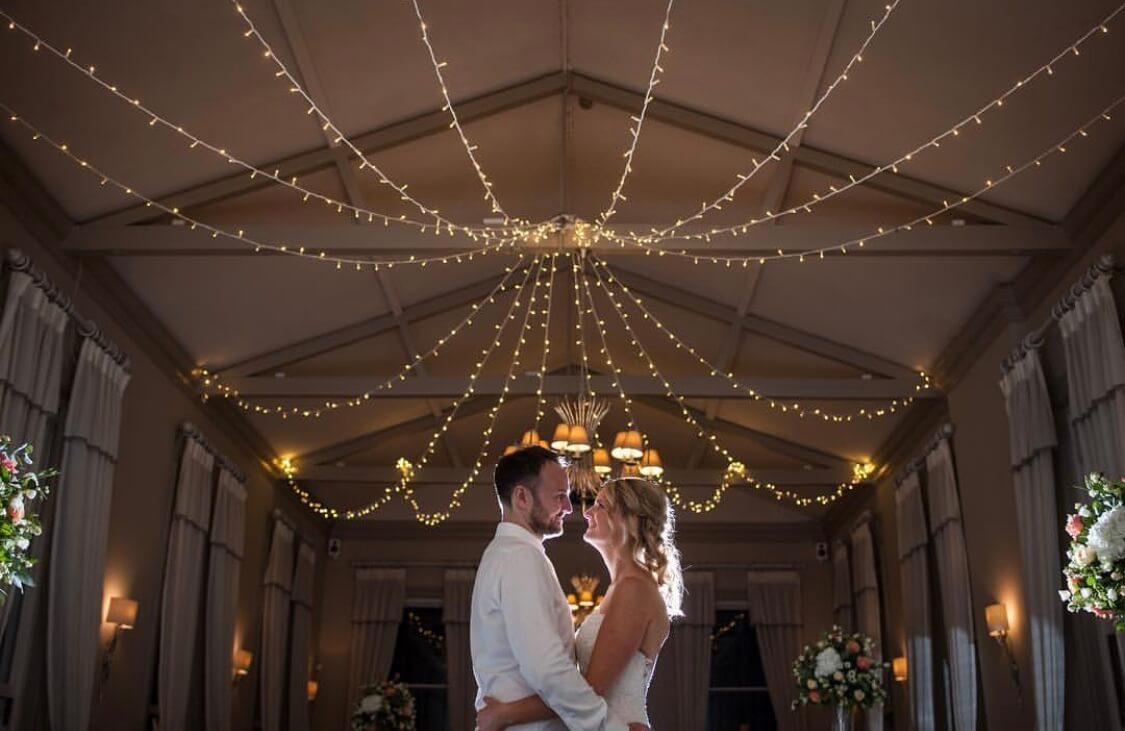 Fairy Light Canopy Hire - Morden Hall - Fusion Sound & Light