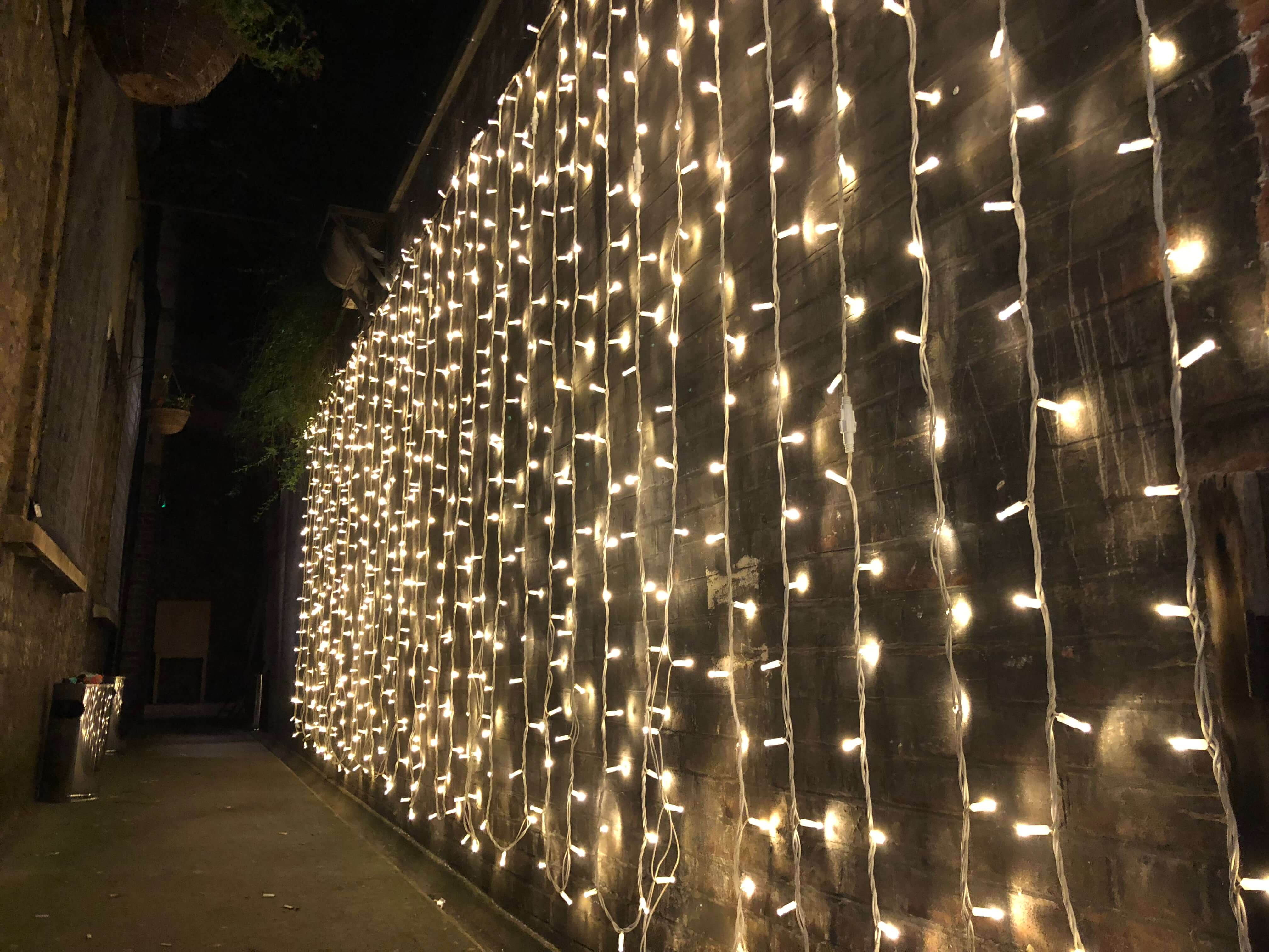 Fairy Light Wall Hire - Fusion Sound & Light
