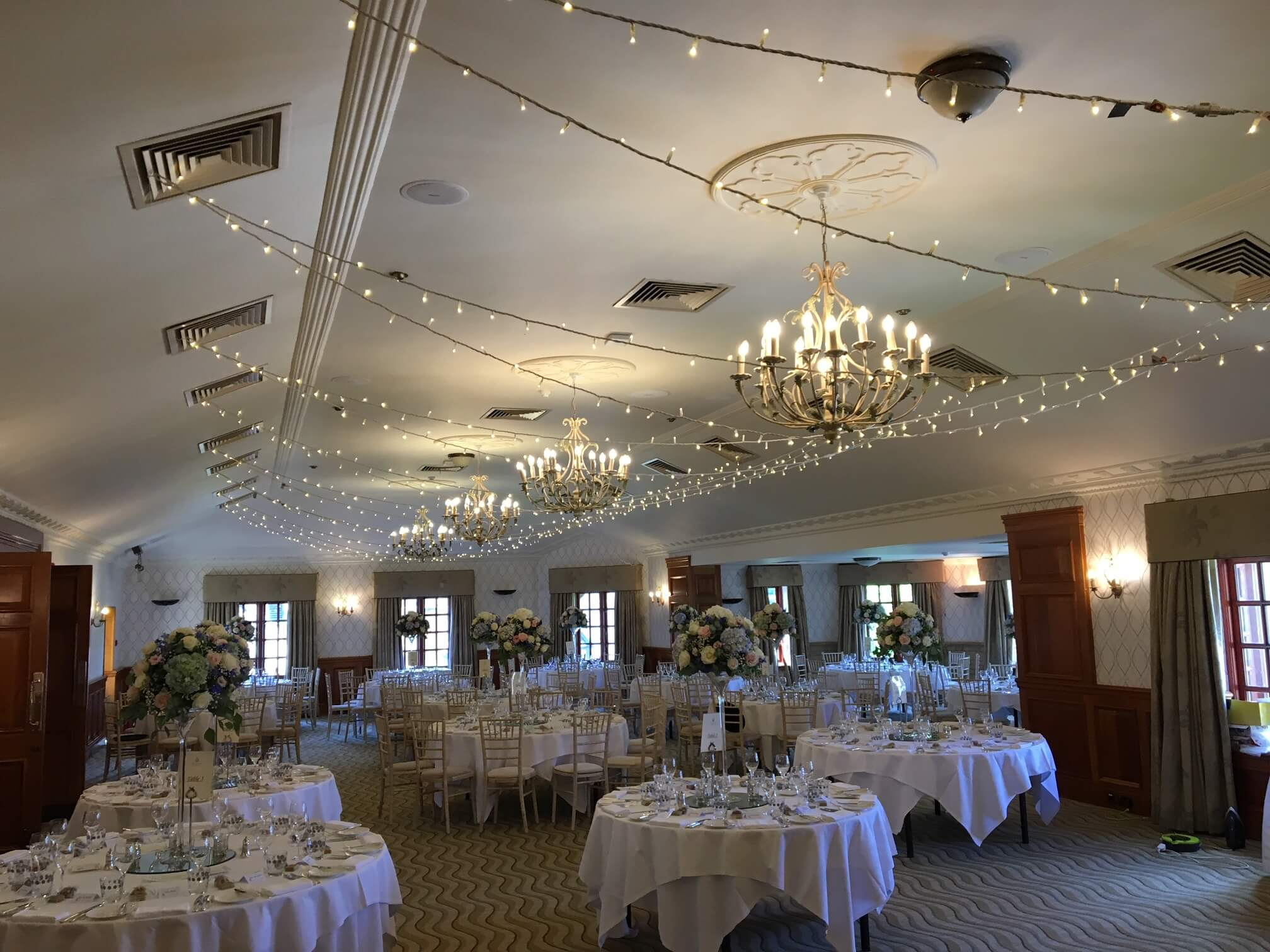 Penny Hill Spa Fairy Light Canopy - Fusion Sound & Light