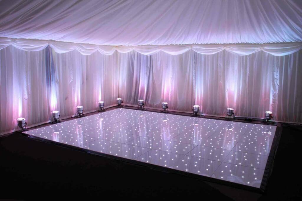 LED Dance Floor Hire London & Surrey Fusion Sound and Light