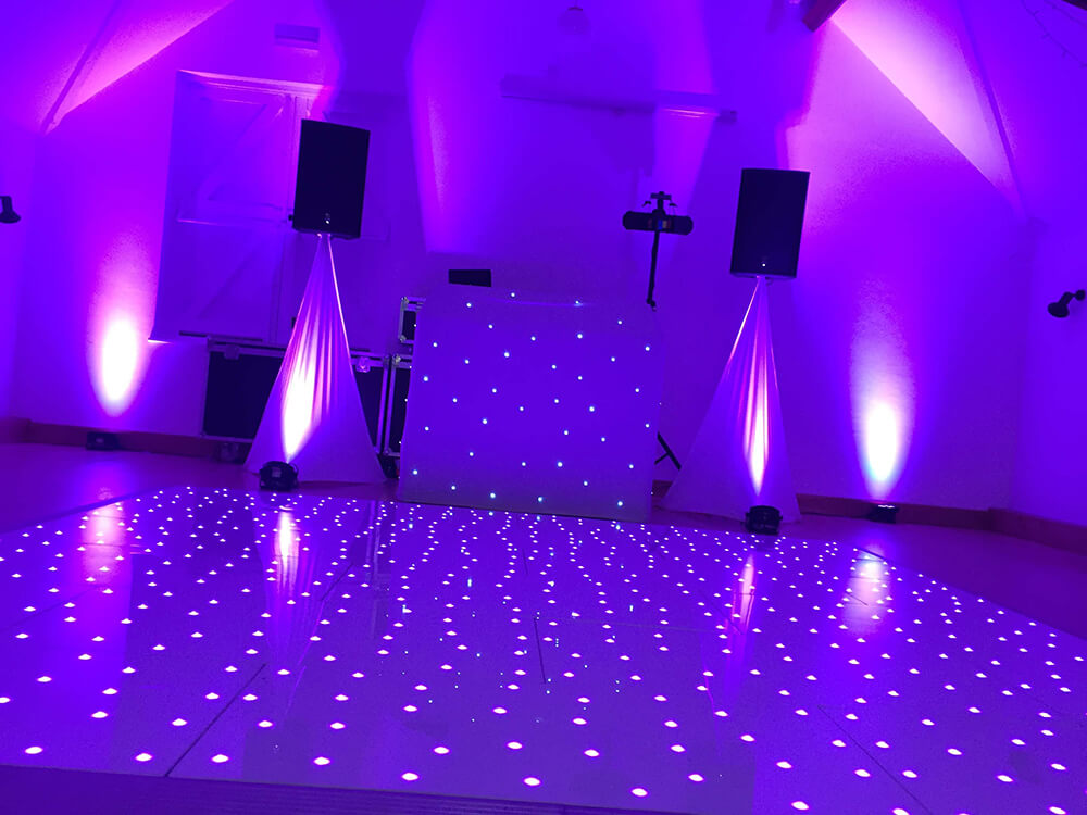 Starlight Dance Floor Hire London & Surrey FSL