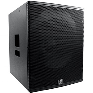 Blackline X118 Speaker Hire Fusion Sound & Light