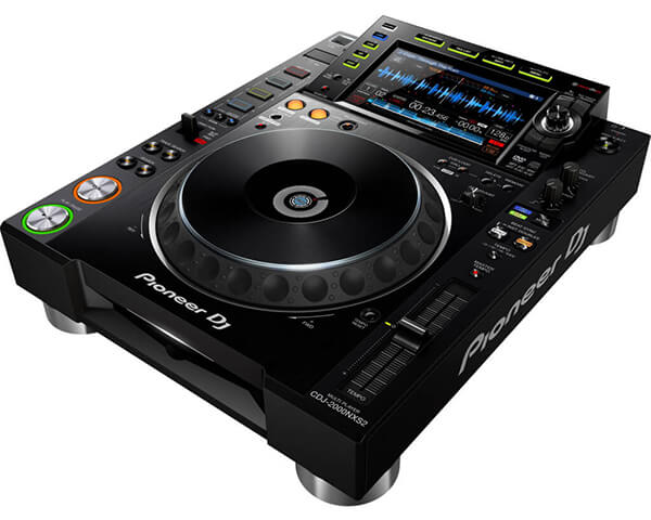 Pioneer CDJ 2000 Nexus MK2 Hire Fusion Sound & Light