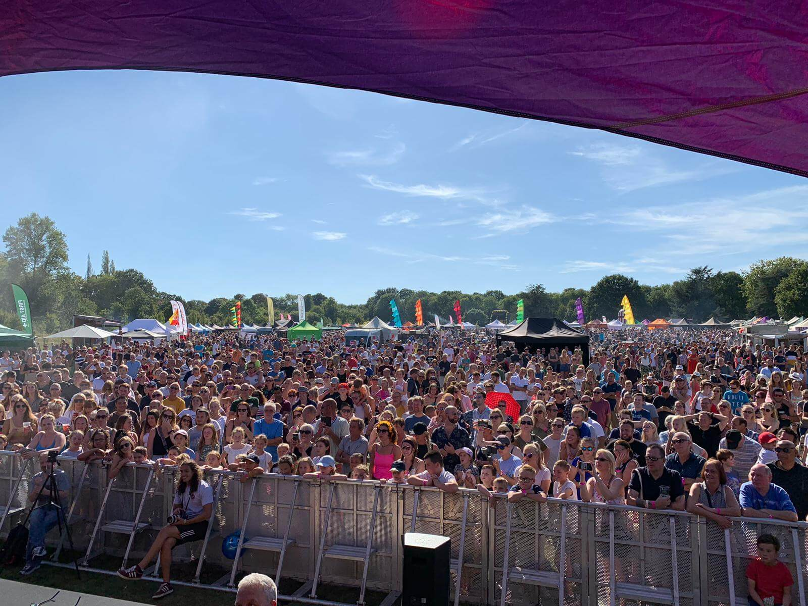 Cheam Celebration Of Food & Drink 2019 - Fusion Sound & Light Stage Pic