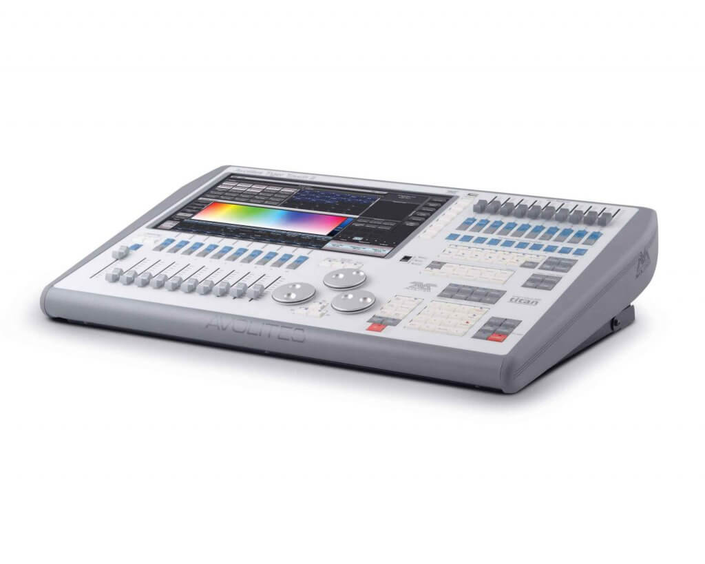 The Tiger Touch II console which is available for hire at fusion light and sound. We hire out to London & Surrey area.