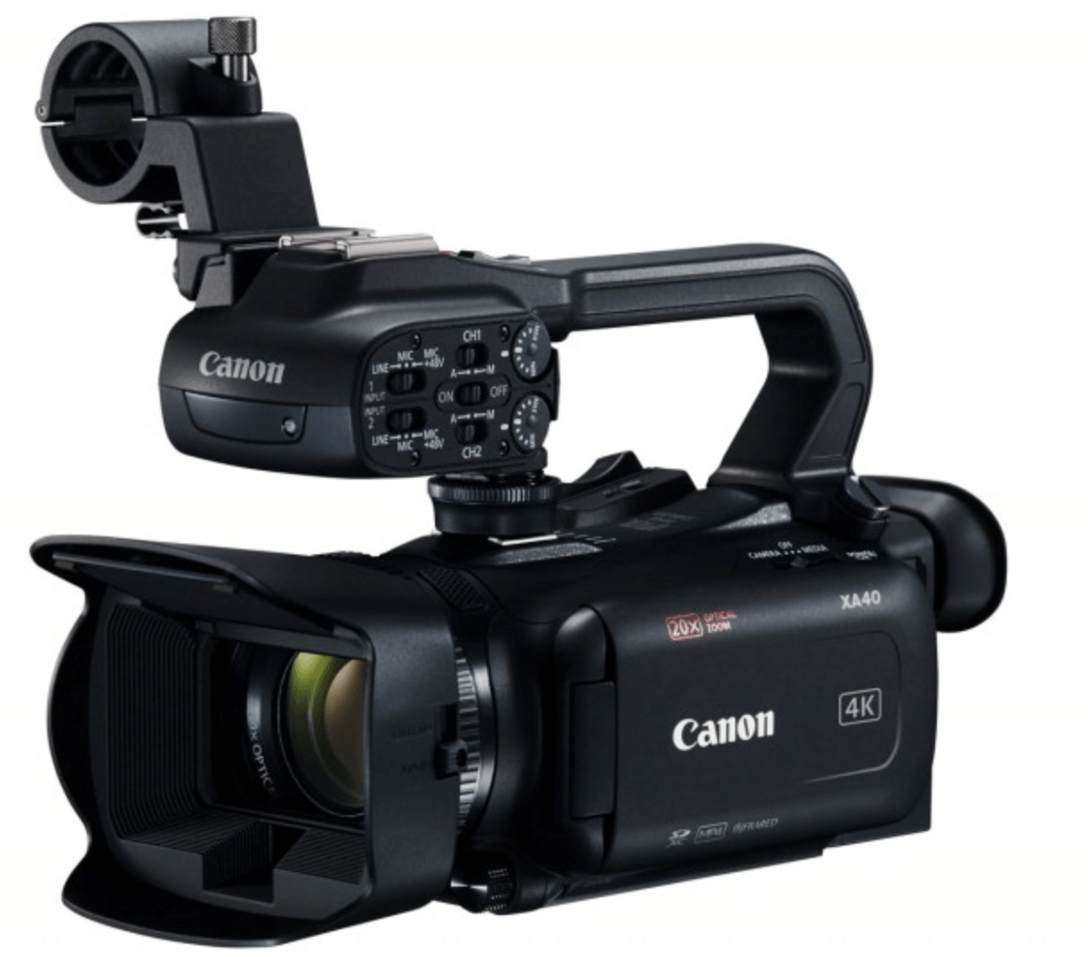 Canon AX40 Hire - Fusion Sound & Light